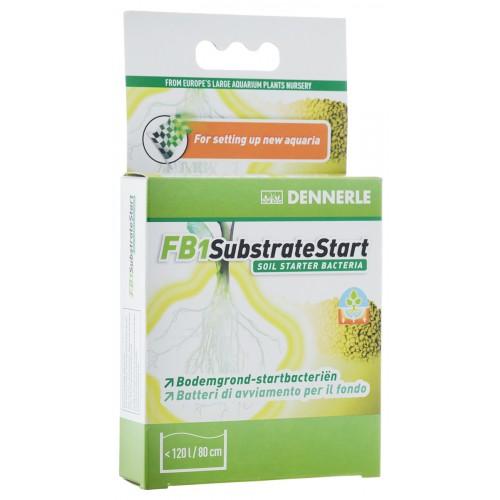 Dennerle FB1 SubstrateStart 50г, на 120 литров, Добавка грунтовых бактерий