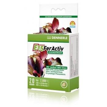 Dennerle Perfect Plant E15 FerActiv, железосодержащее удобрение в форме таблеток