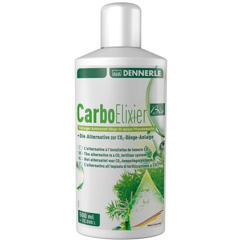 Dennerle Nano Carbo Elixier BIO Удобрение жидкое углеродное с калием и микроэлементами, 500 мл на 25000 л