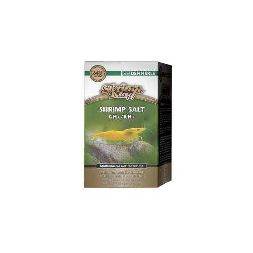 Dennerle Shrimp King Shrimp Salt GH+/KH+ Соль минеральная для повышения жесткости воды в аквариумах с креветками, 200 г
