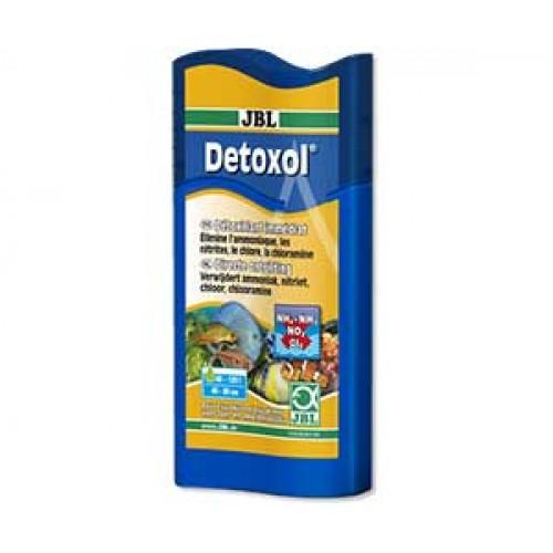 JBL Detoxol - Препарат для быстрой нейтрализации токсинов в аквариумной воде, 100 мл на 400 л