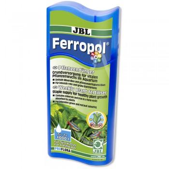 JBL Ferropol - Базовое удобрение для растений в пресноводном аквариуме, 250 мл на 1000 л