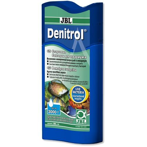 JBL Denitrol Стартовые бактерии для пресноводных и морских аквариумов 100 мл