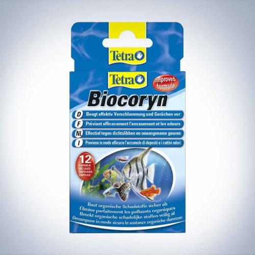 Tetra BIOCORYN 24 капсул на 1200л Кондиционер для разложения органики