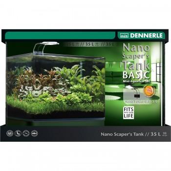 Аквариум DENNERLE NANO SCAPER'S TANK 35 литров