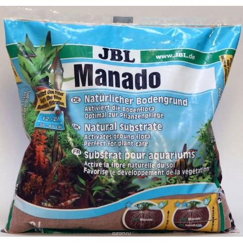 JBL Manado 3l - Питательный грунт, красно-коричневый (цвет латеритной почвы), 3 литра.