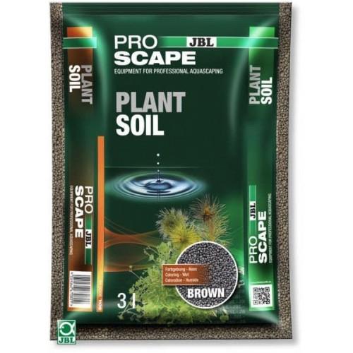 JBL ProScape PlantSoil BROWN 3 л - Питательный грунт для растительных аквариумов, коричневый