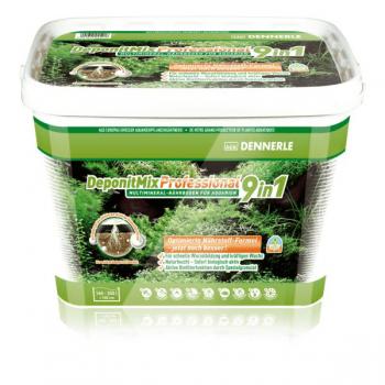 Dennerle DeponitMix Professional 9in1 - Профессиональная грунтовая подкормка для аквариумных растений, ведро 4,8 кг на 100-140 л
