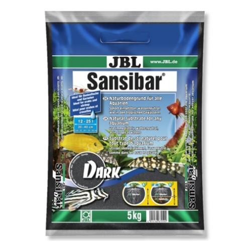 JBL Sansibar DARK - Декоративный грунт для пресных и морских аквариумов, тёмный, 5 кг