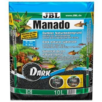 JBL Manado DARK - Темный натуральный субстрат для аквариумов, 10 л
