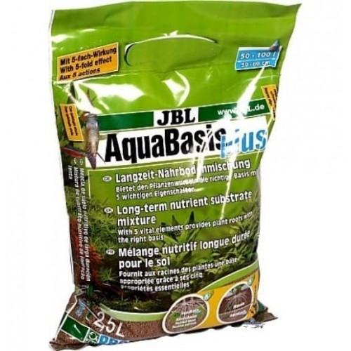 JBL AquaBasis plus - Готовая смесь питательных элементов для новых аквариумов, 2.5 л.