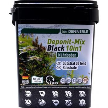 Dennerle Deponitmix Professional Black 10in1, 9,6кг Субстрат питательный