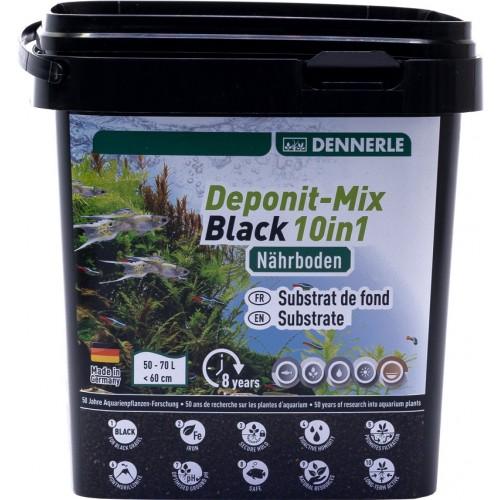 Dennerle Deponitmix Professional Black 10in1, 2,4кг Субстрат питательный
