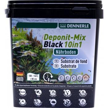 Dennerle Deponitmix Professional Black 10in1, 4,8кг Субстрат питательный