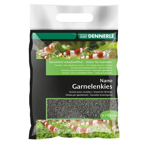 Dennerle Nano Gravel, Грунт черный, 2кг