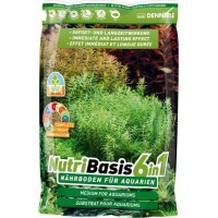 Dennerle NutriBasis 6in1 - Грунтовая подкормка для аквариумных растений , 2,4 кг