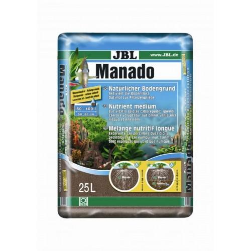 JBL Manado 25l - Питательный грунт, красно-коричневый (цвет латеритной почвы), 25 литра.