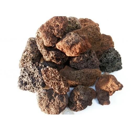 Вулканическая Лавовая крошка 55-120 мм.
