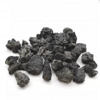 Вулканическая лава черная S 5-10см PRIME