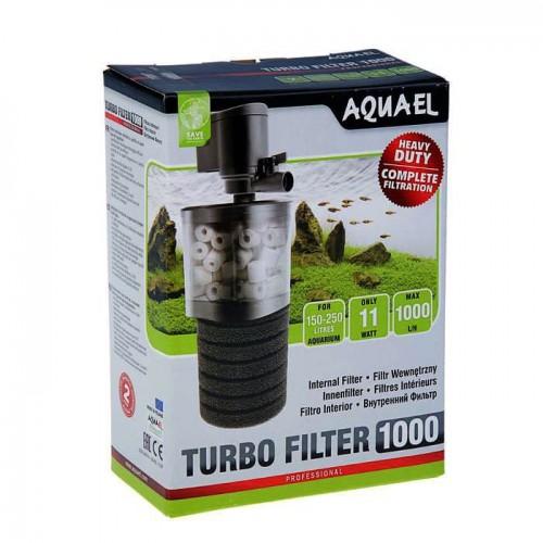 AQUAEL Turbo Filter 1000 - внутренний фильтр для аквариумов 150 - 250 литров