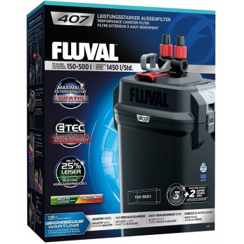 Fluval 407 Внешний фильтр 1450 л/час