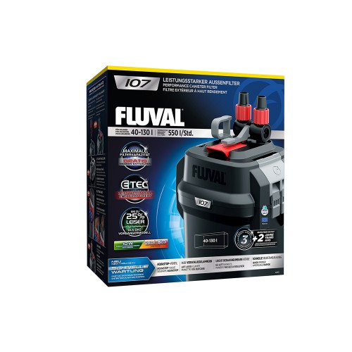 Fluval 107 Внешний фильтр 550 л/час