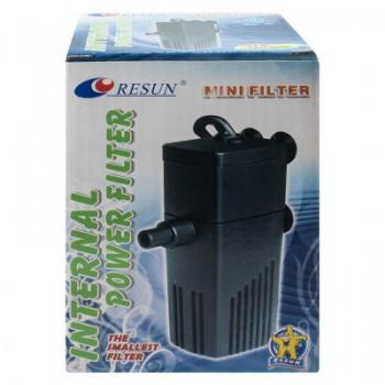 RESUN Внутренний фильтр МINI FILTER до 60л; 200л/ч