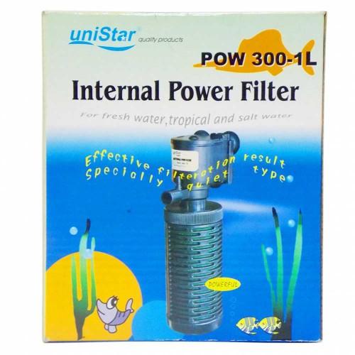 RESUN Внутренний фильтр POW 300-1L 500л/ч; 8w; 50-120л; h=0,7m