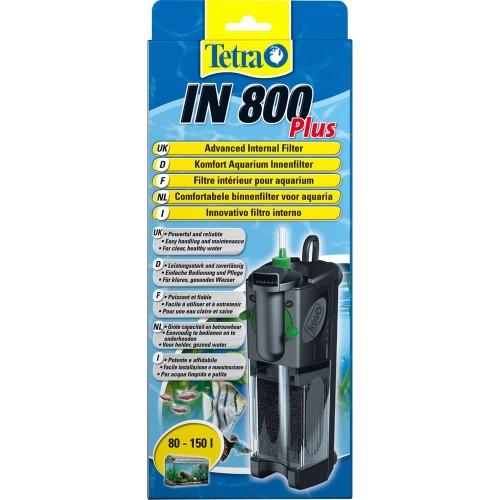 Tetra IN800 plus на 80-150л фильтр внутренний.