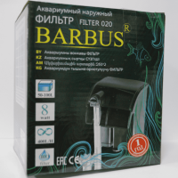 Фильтр наружный Barbus каскад 400 л/ч 8 ватт