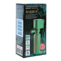Фильтр внутренний Barbus, стаканного типа, 500 л/ч, 6 Ватт.