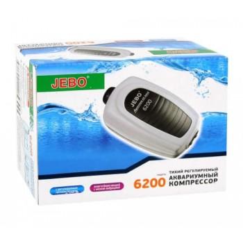 Компрессор Jebo 6200, 3Вт, 2*3л/мин.