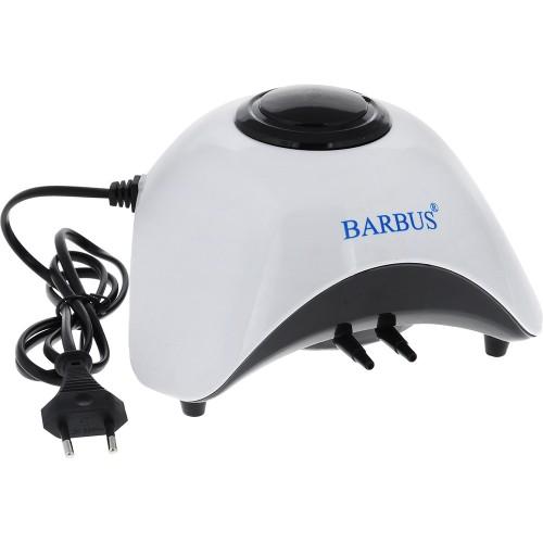 Barbus AIR 011 -  Компрессор воздушный с пониженным уровнем шума 2х6л/м 10ватт