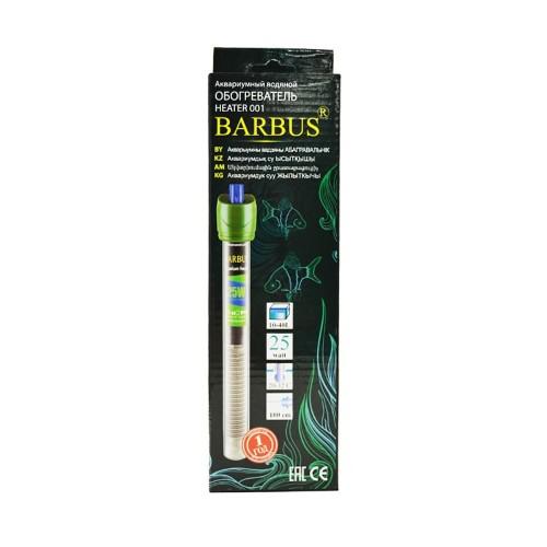 Barbus 25 Вт нагреватель для аквариумов до 40 литров