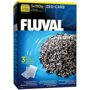 Fluval Удалитель аммония с углем Zeo-Carb, 150 г х 3 шт