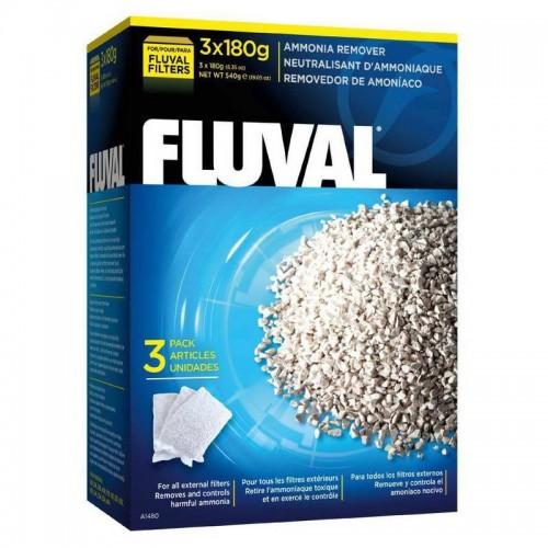 Fluval Удалители аммония для фильтров, 180 г х 3 шт