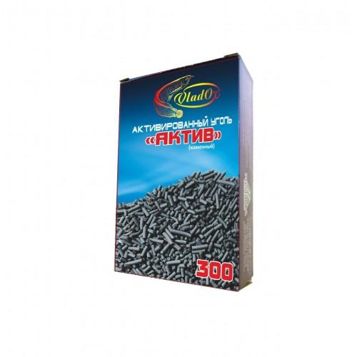 VladOx Активированный уголь каменный АКТИВ 300 мл