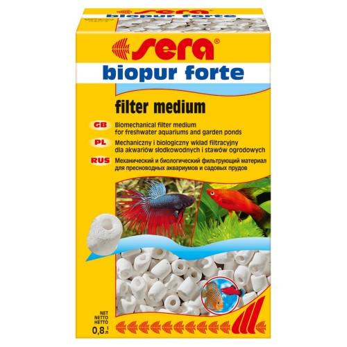 Sera Biopur FORTE 800 г - керамический наполнитель для фильтровв