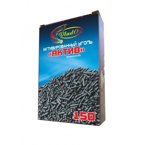 VladOx Активированный уголь каменный АКТИВ 150 мл