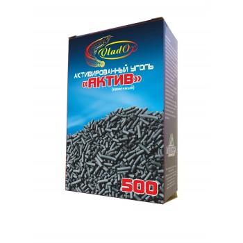 VladOx Активированный уголь каменный АКТИВ 500 мл