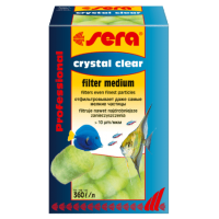 Sera crystal Clear Professional 12 шт, фильтрующий материал.