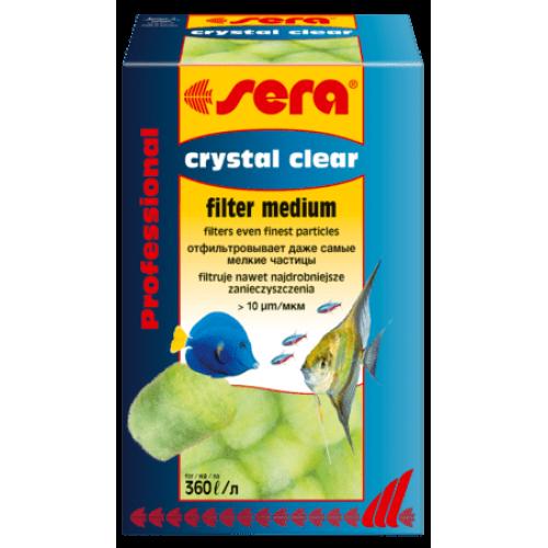 Sera crystal Clear Professional 12 шт, фильтрующий материал