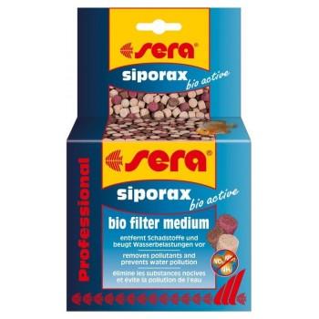 Sera siporax bio active Professional 210 г (~ 0,5 л - на 400 л воды) - специальный фильтрующий наполнитель