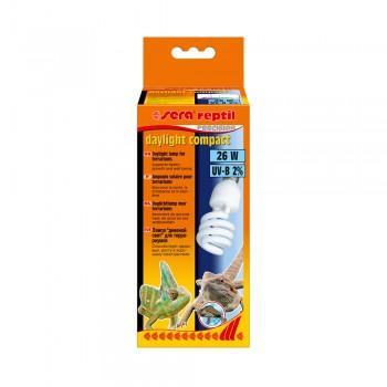 Sera reptil daylight compact 2% 26w - лампа для террариума