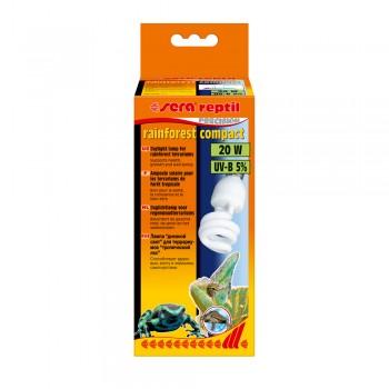 Sera reptil rainforest compact UV-B 5% 20w - лампа для террариума