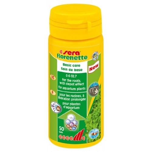 """Удобрение для аквариумных растений Sera """"Florenette"""", 50 таблетки"""