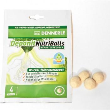 Dennerle Deponit NutriBalls, корневое удобрение в форме шариков, 4 шт.