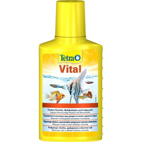Tetra TetraVital 100мл на 200л Кондиционер для поддержания естественных условий