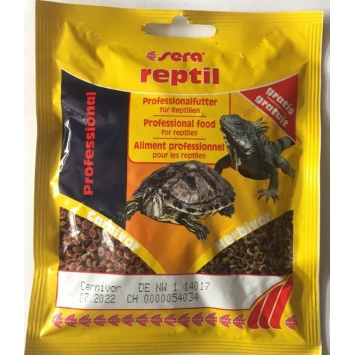 SERA Reptil Professional Carnivor, 10 г, Корм для рептилий