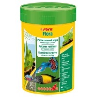 "Sera ""Flora"", 100 мл Корм для рыб"